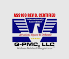 G-PMC, LLC - ASS100 REV D. Certified