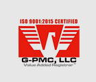 G-PMC, LLC - ISO 9001:2015 Certified